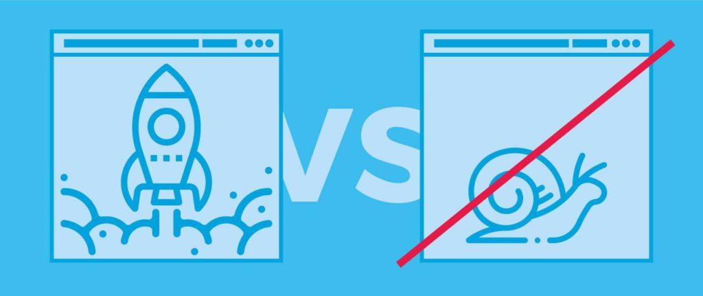 Estrategias de diseño web 10. Rebaja el tiempo de carga de tu sitio